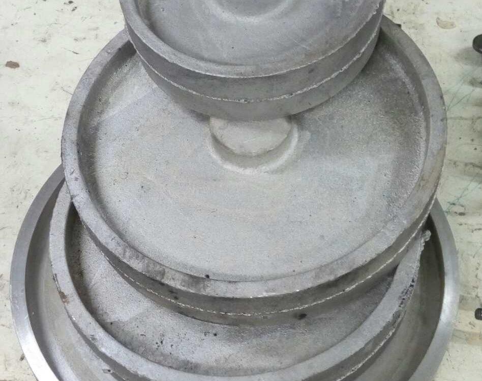 Литые заготовки контактных колес для гриндера